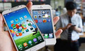 Samsung's Galaxy S4 and Apple's iPhone 5