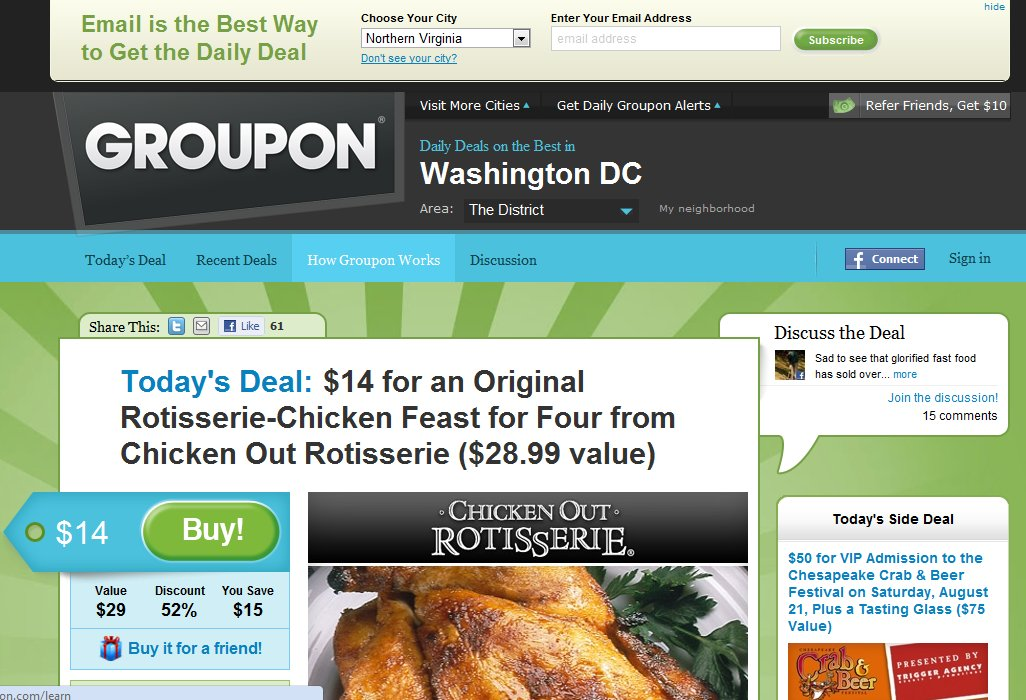 Groupon coupons bangalore